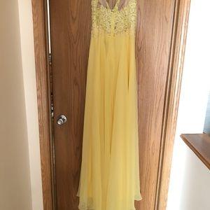 Yellow Prom Dress - Never Worn Brand New
